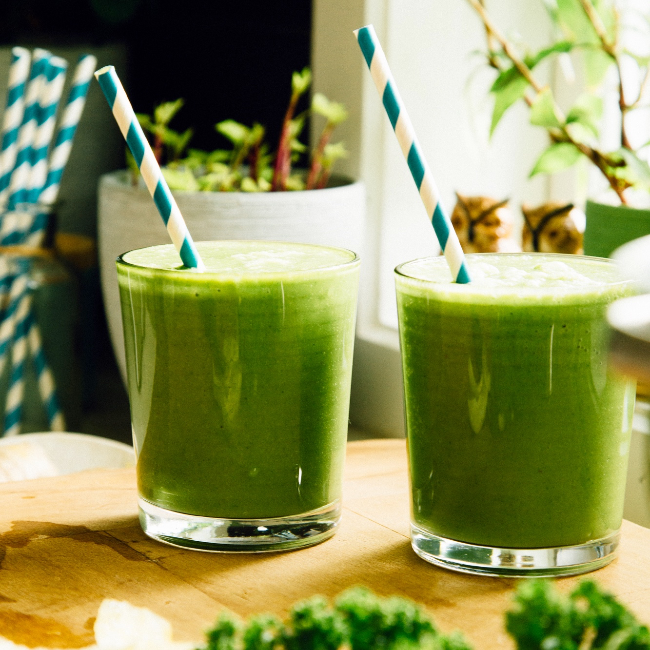 My Go-To Energizing Green Smoothie